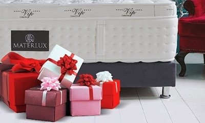 Подарки при покупке матрасов Materlux